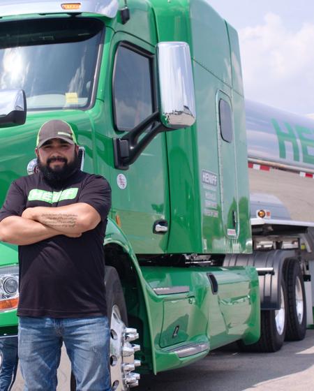 Heniff was featured in Bulk Transporter November 2016 Magazine
